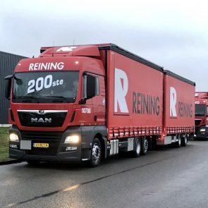 200ste MAN voor Reining Transport